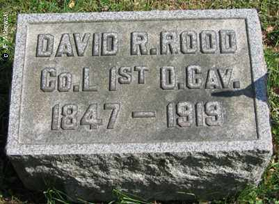 ROOD, DAVID R. - Washington County, Ohio | DAVID R. ROOD - Ohio Gravestone Photos