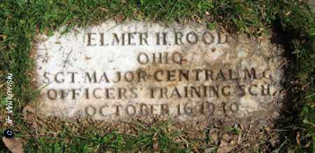 ROOD, ELMER HADLEY - Washington County, Ohio | ELMER HADLEY ROOD - Ohio Gravestone Photos