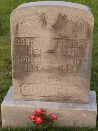 RUNNELS, LODEMA - Washington County, Ohio | LODEMA RUNNELS - Ohio Gravestone Photos