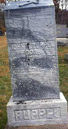 RUPPEL, JOHN KONRAD - Washington County, Ohio | JOHN KONRAD RUPPEL - Ohio Gravestone Photos