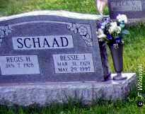 SCHAAD, BESSIE J. - Washington County, Ohio | BESSIE J. SCHAAD - Ohio Gravestone Photos