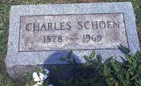 SCHOEN, JOHN CHARLES - Washington County, Ohio | JOHN CHARLES SCHOEN - Ohio Gravestone Photos