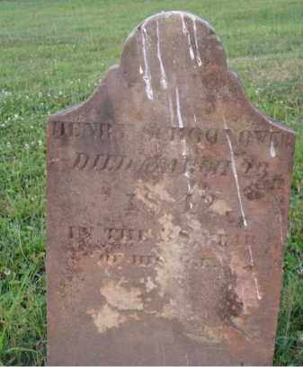 SCHOONOVER, HENRY - Washington County, Ohio | HENRY SCHOONOVER - Ohio Gravestone Photos