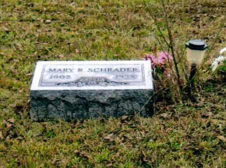 SCHRADER, MARY REBECCA - Washington County, Ohio | MARY REBECCA SCHRADER - Ohio Gravestone Photos