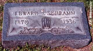 SCHRAMM, EDWARD J. - Washington County, Ohio | EDWARD J. SCHRAMM - Ohio Gravestone Photos