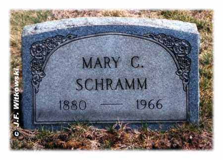 BARNHART SCHRAMM, MARY CATHERINE - Washington County, Ohio | MARY CATHERINE BARNHART SCHRAMM - Ohio Gravestone Photos