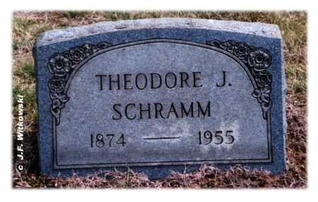 SCHRAMM, THEODORE J. - Washington County, Ohio | THEODORE J. SCHRAMM - Ohio Gravestone Photos