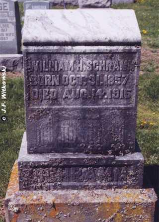 SCHRAMM, WILLIAM HENRY - Washington County, Ohio | WILLIAM HENRY SCHRAMM - Ohio Gravestone Photos