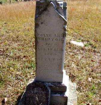 SHIPTON, POLLY ANN - Washington County, Ohio | POLLY ANN SHIPTON - Ohio Gravestone Photos