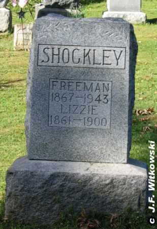 SHOCKLEY, LIZZIE - Washington County, Ohio | LIZZIE SHOCKLEY - Ohio Gravestone Photos