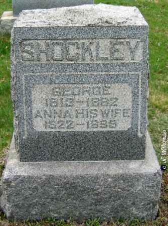 SHOCKLEY, ANNA - Washington County, Ohio | ANNA SHOCKLEY - Ohio Gravestone Photos