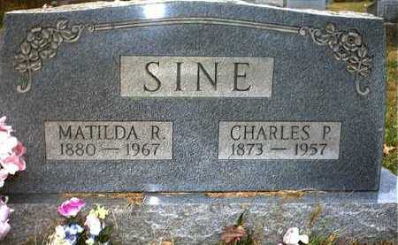 SINE, MATILDA REGINE - Washington County, Ohio | MATILDA REGINE SINE - Ohio Gravestone Photos