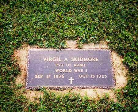 SKIDMORE, VIRGIL - Washington County, Ohio | VIRGIL SKIDMORE - Ohio Gravestone Photos