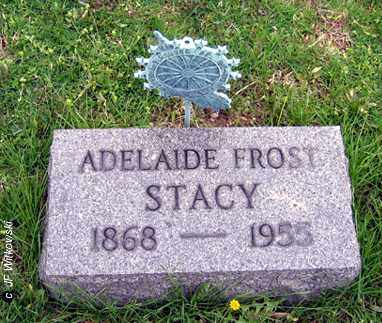 FROST STACY, ADELAIDE - Washington County, Ohio | ADELAIDE FROST STACY - Ohio Gravestone Photos