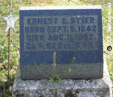 STIER, ERNEST EDWARD SR - Washington County, Ohio | ERNEST EDWARD SR STIER - Ohio Gravestone Photos
