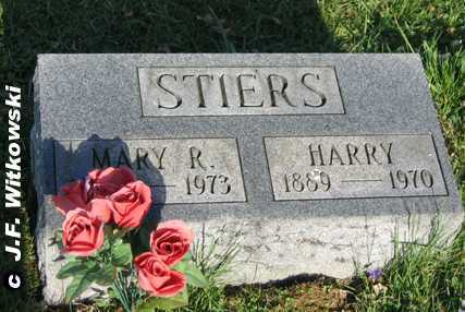 STIERS, MARY R. - Washington County, Ohio | MARY R. STIERS - Ohio Gravestone Photos