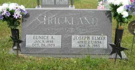 STRICKLAND, JOSEPH ELMER - Washington County, Ohio | JOSEPH ELMER STRICKLAND - Ohio Gravestone Photos