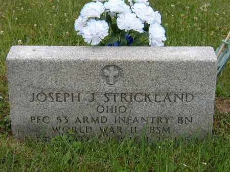 STRICKLAND, JOSEPH - Washington County, Ohio | JOSEPH STRICKLAND - Ohio Gravestone Photos
