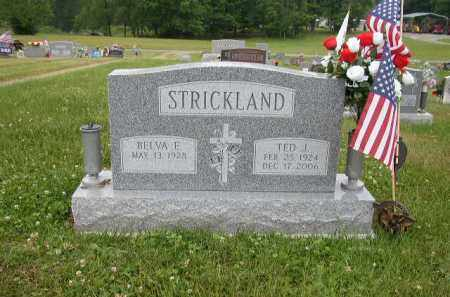 STRICKLAND, BELVA - Washington County, Ohio | BELVA STRICKLAND - Ohio Gravestone Photos