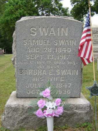 SWAIN, SAMUEL - Washington County, Ohio | SAMUEL SWAIN - Ohio Gravestone Photos
