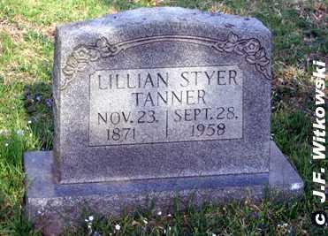 TANNER, LILLIAN MAY - Washington County, Ohio | LILLIAN MAY TANNER - Ohio Gravestone Photos