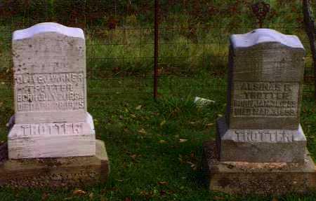 TROTTER, ALSINAS (SINA) F. - Washington County, Ohio | ALSINAS (SINA) F. TROTTER - Ohio Gravestone Photos