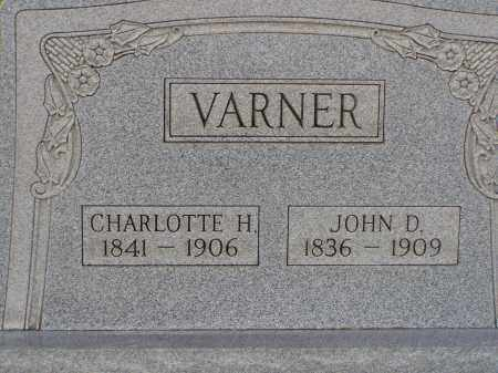 VARNER, CHARLOTTE H. - Washington County, Ohio | CHARLOTTE H. VARNER - Ohio Gravestone Photos