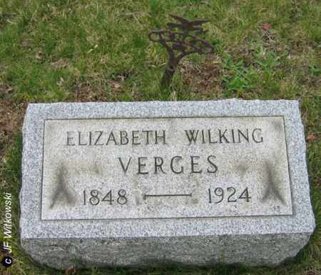 VERGES, ELIZABETH - Washington County, Ohio | ELIZABETH VERGES - Ohio Gravestone Photos