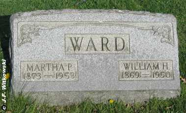 WARD, MARTHA P. - Washington County, Ohio | MARTHA P. WARD - Ohio Gravestone Photos