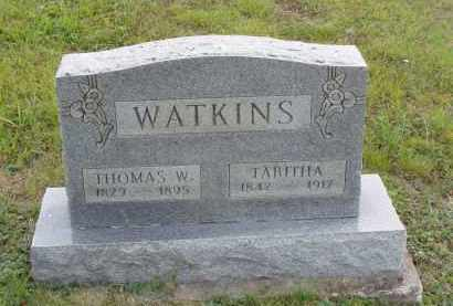 WATKINS, THOMAS W. - Washington County, Ohio | THOMAS W. WATKINS - Ohio Gravestone Photos