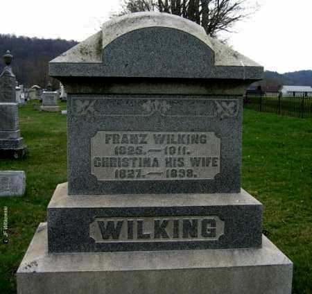 WILKING, FRANZ - Washington County, Ohio | FRANZ WILKING - Ohio Gravestone Photos