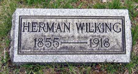 WILKING, HERMAN - Washington County, Ohio | HERMAN WILKING - Ohio Gravestone Photos