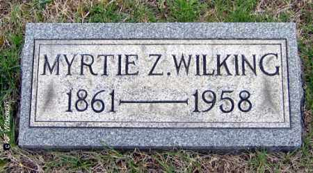 WILKING, MYRTIE Z. - Washington County, Ohio | MYRTIE Z. WILKING - Ohio Gravestone Photos