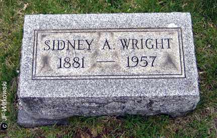 WRIGHT, SIDNEY A. - Washington County, Ohio | SIDNEY A. WRIGHT - Ohio Gravestone Photos