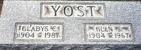YOST, GLEN SELDON - Washington County, Ohio | GLEN SELDON YOST - Ohio Gravestone Photos