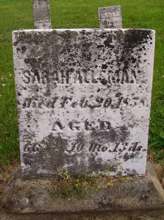 HEPPICK ALLEMAN, SARAH - Wayne County, Ohio | SARAH HEPPICK ALLEMAN - Ohio Gravestone Photos