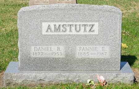 AMSTUTZ, FANNIE E - Wayne County, Ohio | FANNIE E AMSTUTZ - Ohio Gravestone Photos