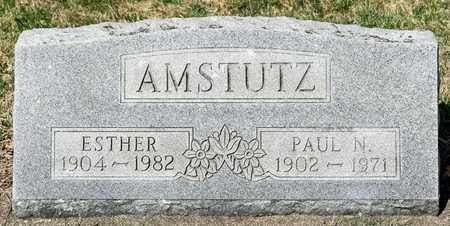 AMSTUTZ, PAUL N - Wayne County, Ohio | PAUL N AMSTUTZ - Ohio Gravestone Photos