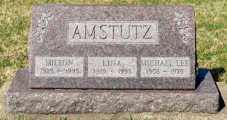 AMSTUTZ, LINA - Wayne County, Ohio | LINA AMSTUTZ - Ohio Gravestone Photos