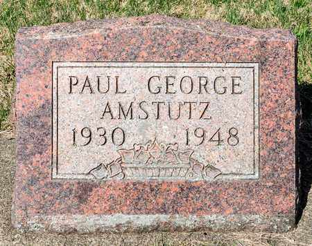 AMSTUTZ, PAUL GEORGE - Wayne County, Ohio | PAUL GEORGE AMSTUTZ - Ohio Gravestone Photos