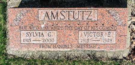 AMSTUTZ, VICTOR E - Wayne County, Ohio | VICTOR E AMSTUTZ - Ohio Gravestone Photos