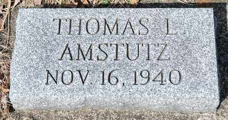 AMSTUTZ, THOMAS L - Wayne County, Ohio | THOMAS L AMSTUTZ - Ohio Gravestone Photos
