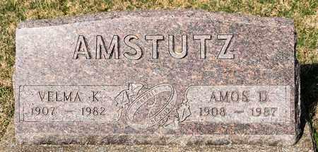 AMSTUTZ, VELMA K - Wayne County, Ohio | VELMA K AMSTUTZ - Ohio Gravestone Photos