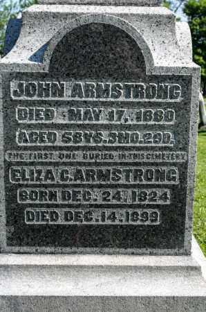 ARMSTRONG, ELIZA C. - Wayne County, Ohio | ELIZA C. ARMSTRONG - Ohio Gravestone Photos