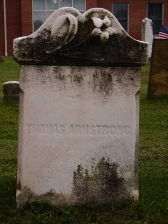 ARMSTRONG, THOMAS - Wayne County, Ohio | THOMAS ARMSTRONG - Ohio Gravestone Photos