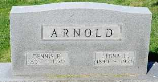 THOMPSON ARNOLD, LEONA E. - Wayne County, Ohio | LEONA E. THOMPSON ARNOLD - Ohio Gravestone Photos