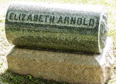 ARNOLD, ELIZABETH - Wayne County, Ohio | ELIZABETH ARNOLD - Ohio Gravestone Photos