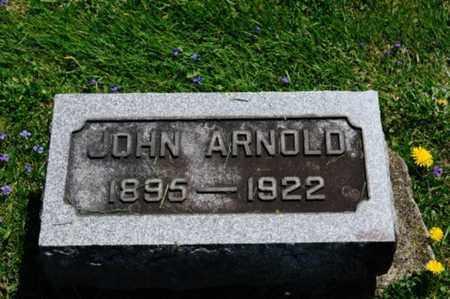 ARNOLD, JOHN - Wayne County, Ohio | JOHN ARNOLD - Ohio Gravestone Photos