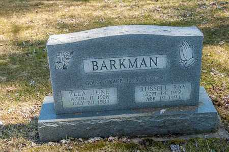 BARKMAN, ELLA JUNE - Wayne County, Ohio | ELLA JUNE BARKMAN - Ohio Gravestone Photos