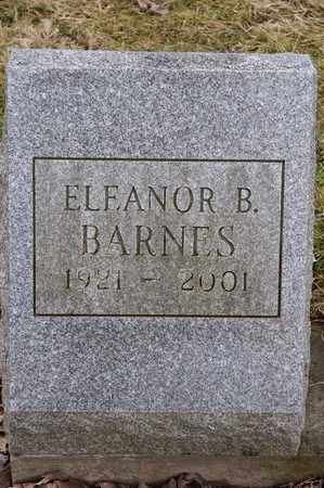 BARNES, ELEANOR B. - Wayne County, Ohio | ELEANOR B. BARNES - Ohio Gravestone Photos
